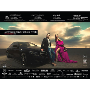 TeleGroup podržao manifestaciju Mercedes-Benz Fashion Week Montenegro u Podgorici