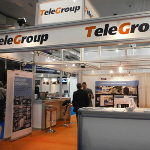 TeleGroup on iSEC Exhibition 2012 presented integrated Security solutions